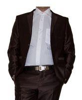 Designer Herren Sakko einzeln tailliert Hochzeit Anzug Sakko Glanz Smoking Jacke 2 Knopf Einreiher – Bild 4