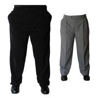 Herren Bundfaltenhose Anzug Herrenhose mit Bundfalte Stoff Hose verschiedene Farben Größe 44 – Bild 1
