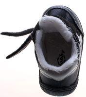 Leder Kinder Schuhe Baby Winter Halbschuhe Jungen Mädchen Turnschuhe gefüttert Schwarz Pink  – Bild 7