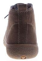 Damen Wildleder Schuhe Knöchelschuhe echt Leder Boots flach Schnürer Braun Khaki Gr. 36 - 41 – Bild 5