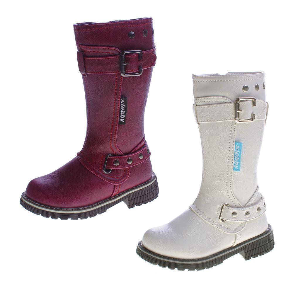 Boots 32 Violett 25 Schuhe Größe Winter Mädchen Gefüttert
