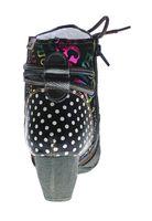 Damen Stiefeletten echt Leder Stiefel TMA 8979F gefüttert Schuhe gepunktet Ziernähte Bunt 36-42 – Bild 6