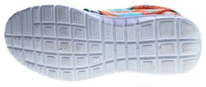 Damen Sneaker Leinenschuhe Halb Schuhe leicht flexibel bunt Muster Schnürer flach Größe 36 - 42 – Bild 6
