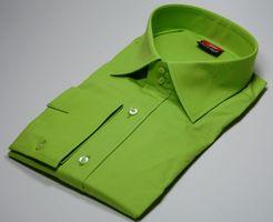 Designer Herren Hemd klassischer Kragen New Kent 2 Knopf Herrenhemd Slim Fit tailliert Langarm – Bild 17