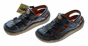 Leder Sandaletten Comfort Damen Sandale Schuh Rot Gelb Weiß Schwarz Beige Schuhe echt Leder Pantoletten Clogs – Bild 15