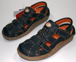 Leder Sandaletten Comfort Damen Sandale Schuh Rot Gelb Weiß Schwarz Beige Schuhe echt Leder Pantoletten Clogs – Bild 2