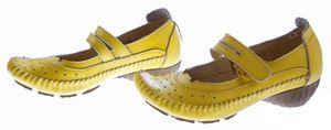 Leder Ballerinas Pumps Damen Sandaletten 1268 Schuhe Comfort TMA Echt Leder Mokassins – Bild 14