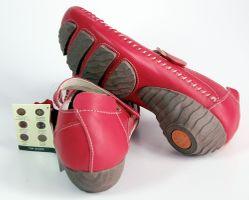 Leder Ballerinas Pumps Damen Sandaletten 1268 Schuhe Comfort TMA Echt Leder Mokassins – Bild 10