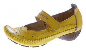 Leder Ballerinas Pumps Damen Sandaletten 1268 Schuhe Comfort TMA Echt Leder Mokassins – Bild 3