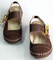 Echt Leder Ballerinas Damen Sandaletten TMA1263 Schuhe Comfort Leder Mokassins – Bild 6