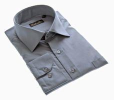 Designer Herren Hemd bügelleicht klassischer Kragen K11 Herrenhemd Kentkragen viele Farben – Bild 25