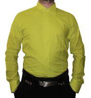 Designer Herren Hemd klassischer Kragen Slim Fit tailliert Langarm K14 viele Farben – Bild 10