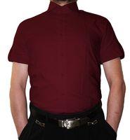 Designer Herren Kurzarm Hemd klassischer Kragen Slim Fit tailliert Kurzarm K14 2K viele Farben – Bild 15