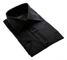 Designer Herren Kurz Arm Hemd Bügelfrei klassischer Kragen Herrenhemd Kentkragen viele Farben Kurzarm – Bild 22