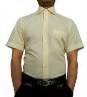 Designer Herren Kurz Arm Hemd Bügelfrei klassischer Kragen Herrenhemd Kentkragen viele Farben Kurzarm – Bild 10