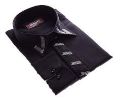 Designer Herren Hemd mit Stick Bügelfrei K7F u K2 Herrenhemd Langarm new Kent Kragen  – Bild 11