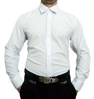 Designer Herren Hemd mit Stick Bügelfrei K7F u K2 Herrenhemd Langarm new Kent Kragen  – Bild 3