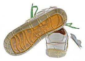 Leder Damen Halb Schuhe Comfort Sneakers Used Look Grün Blau Rot Turnschuhe TMA Eyes – Bild 16
