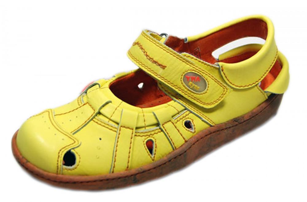 leder sandaletten damen schuhe tma 828 comfort sandalen. Black Bedroom Furniture Sets. Home Design Ideas