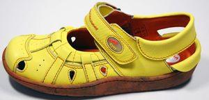 Leder Sandaletten Damen Schuhe TMA 828 Comfort Sandalen Echt Leder Clogs Ballerina – Bild 23