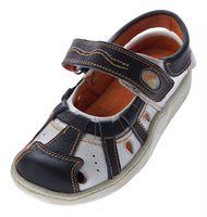 Leder Sandaletten Damen Schuhe TMA 828 Comfort Sandalen Echt Leder Clogs Ballerina – Bild 3