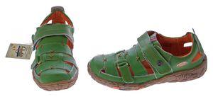 Damen Echt Leder Sandalen Klettverschluss Halbschuhe Leder Schuhe TMA 1667 Sandaletten – Bild 6