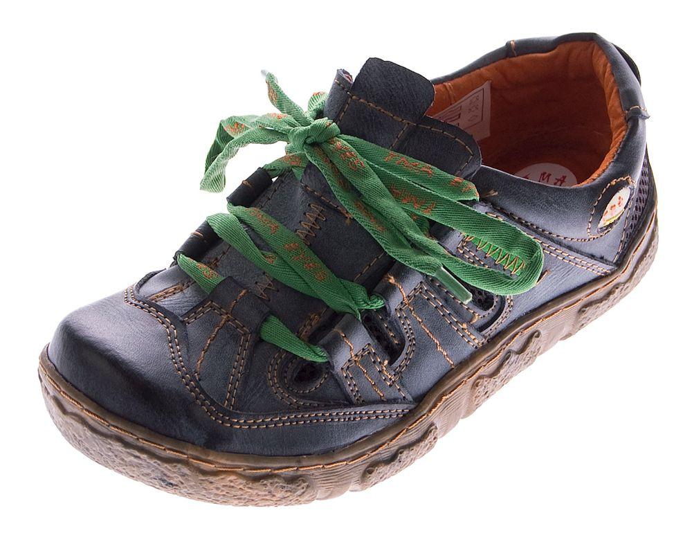 693ee4d631ad5a Damen Leder Halb Schuhe Used Look Comfort Sneakers Grau Grün Weiss Rot  Schwarz Turnschuhe TMA Eyes