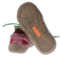 Damen Leder Halb Schuhe Used Look Comfort Sneakers Grau Grün Weiss Rot Schwarz Turnschuhe TMA Eyes – Bild 22
