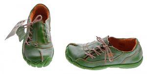 TMA Comfort Damen Leder Schuh Used Look Schuhe echt Leder TMA 1905 Halbschuhe Gr. 36-42 – Bild 17