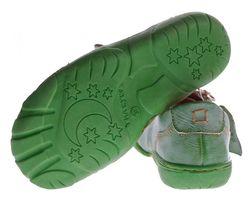 Comfort Damen Leder Schuh von TMA EYES Schwarz Rot Grün Used Look Schuhe echt Leder Halbschuhe – Bild 10