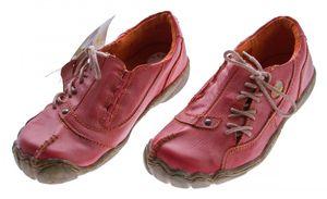 TMA Comfort Damen Leder Schuh Used Look Schuhe echt Leder TMA 1905 Halbschuhe Gr. 36-42 – Bild 4