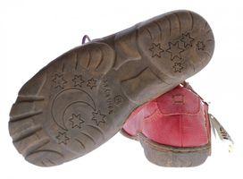 Comfort Damen Leder Schuh von TMA EYES Schwarz Rot Grün Used Look Schuhe echt Leder Halbschuhe – Bild 7