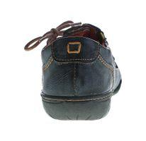 TMA Comfort Damen Leder Schuh Used Look Schuhe echt Leder TMA 1905 Halbschuhe Gr. 36-42 – Bild 8
