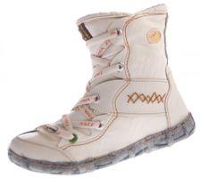 Leder Winter Stiefeletten TMA Damen Knöchel Schuhe gefüttert Schwarz Weiß Grün Blau Rot Stiefel im used look Knöchelschuhe – Bild 3