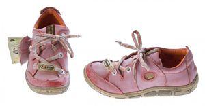 Damen Leder Halb Schuhe Comfort Sneakers Schwarz Grün Rot Grau Weiß Used Look Turnschuhe TMA Eyes – Bild 12