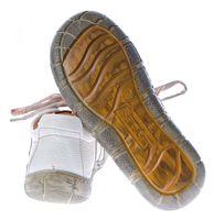 Damen Leder Halb Schuhe Comfort Sneakers Schwarz Grün Rot Grau Weiß Used Look Turnschuhe TMA Eyes – Bild 10