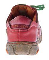 Comfort Damen Sneakers Leder Schuhe Schwarz Grün Weiß Gelb Blau Rot Turnschuhe Schnürer Halbschuhe – Bild 23