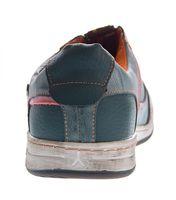 Herren Leder Schuhe Slipper TMA 4104 Halb Schuhe Blau Sneaker Comfort Sportschuhe Used Look – Bild 9