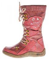Leder Stiefel Damen Winter Schuhe warm gefüttert echt Leder Damenstiefel Used Look TMA 16366 39-42 – Bild 12