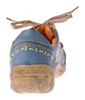 Damen Leder Halb Schuhe Comfort Sneakers Schwarz Grün Blau Rot Weiß Used Look Turnschuhe TMA EYES 1646 – Bild 9