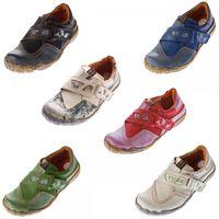 Damen echt Leder Comfort Schuhe TMA 1901 Halbschuhe Slipper viele Farben Turnschuhe Sneakers Used Look – Bild 1