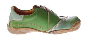 Damen echt Leder Comfort Schuhe TMA 1901 Halbschuhe Slipper viele Farben Turnschuhe Sneakers Used Look – Bild 9