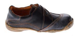 Damen echt Leder Comfort Schuhe TMA 1901 Halbschuhe Slipper viele Farben Turnschuhe Sneakers Used Look – Bild 14