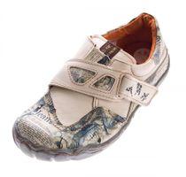 Damen echt Leder Comfort Schuhe TMA 1901 Halbschuhe Slipper viele Farben Turnschuhe Sneakers Used Look – Bild 5