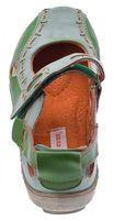 Damen Leder Ballerina Schuhe TMA EYES 1601 Sandalen viele Farben Zeitungsdruck Gr 36-42 – Bild 25