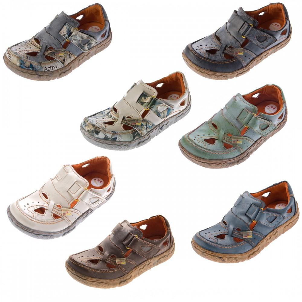 Neues Produkt Texturiert Freizeit Comfort Leder Damen Schuhe