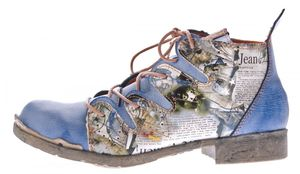 TMA Damen Stiefeletten Leder Boots Echtleder TMA 5168 Knöchel Schuhe Gr. 36 - 42 – Bild 25