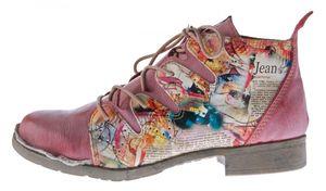 TMA Damen Stiefeletten Leder Boots Echtleder TMA 5168 Knöchel Schuhe Gr. 36 - 42 – Bild 19