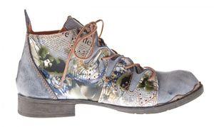 TMA Damen Stiefeletten Leder Boots Echtleder TMA 5168 Knöchel Schuhe Gr. 36 - 42 – Bild 8