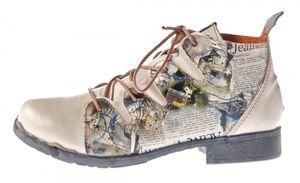 TMA Damen Stiefeletten Leder Boots Echtleder TMA 5168 Knöchel Schuhe Gr. 36 - 42 – Bild 11